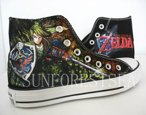 Zelda Inspired Shoes [Etsy]