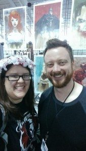 Me and Brett Weldele at NYCC!