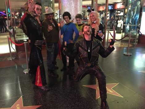 Spock and I (Kirk) made some friends our first night out on the Boulevard.