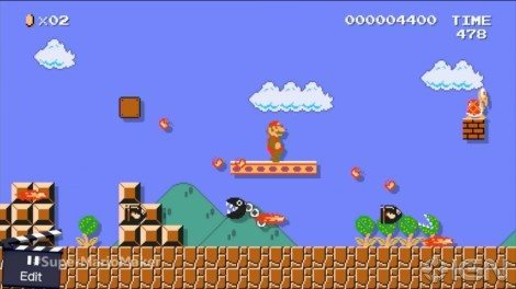 Nintendo's already come up with a lot of creative ways to use Super Mario Maker, but I'm sure players will find even more. [IGN]