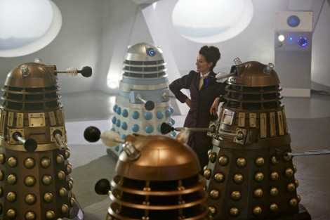 Missy knows the Daleks, inside and out [Simon Ridgway/BBC Worldwide Limited]