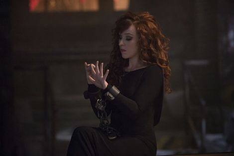 Rowena will not be a happy camper when season 11 begins [Source: Katie Yu/The CW]