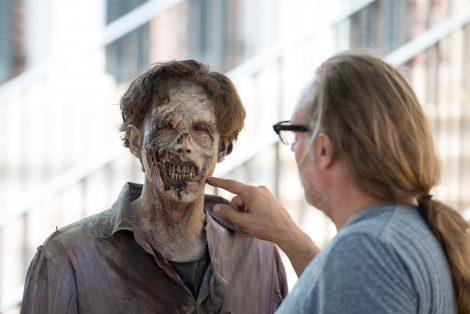 Greg Nicotero - The Walking Dead _ Season 6, Episode 8 - Photo Credit: Gene Page/AMC