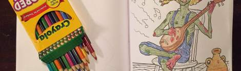 Crayola Enters the Coloring Book Arena with 'Art With Edge'