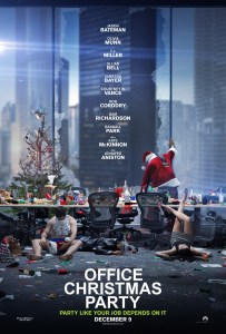 office-christmas-poster