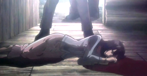 Attack on Titan humans murder Mikasa's mother