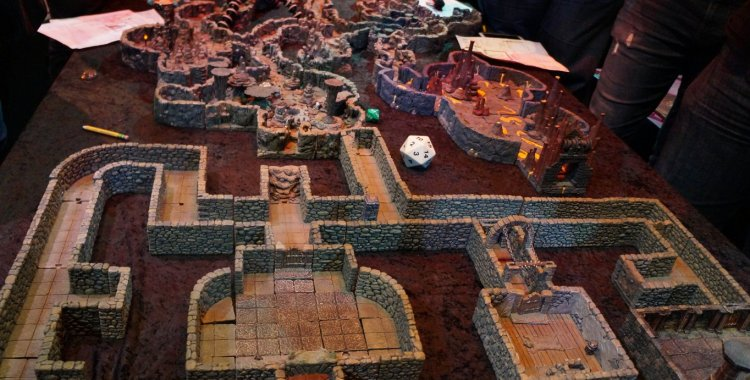 Fanfaire NYC 2018: Taking a Trip through the Dungeon of Doom by Dwarven Forge