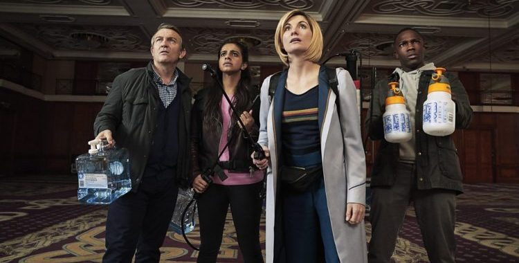 """Doctor Who """"Arachnids in the UK""""  was frightening and fun"""