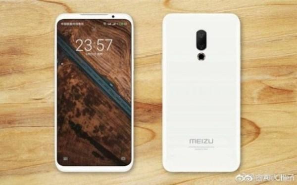 Android Smartphone Meizu 16 Display