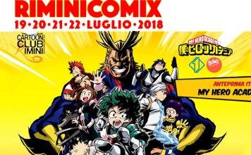 My hero academia Rimini Comix
