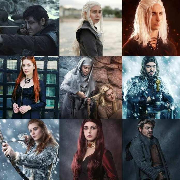 Ice and Fire: viaggio nei sette regni - cosplayers