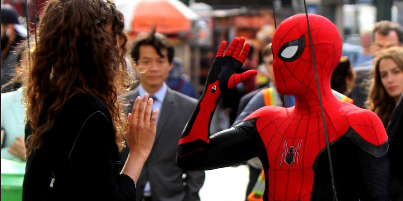Spider-Man: Far From Home, fine delle riprese: ultima foto dal set