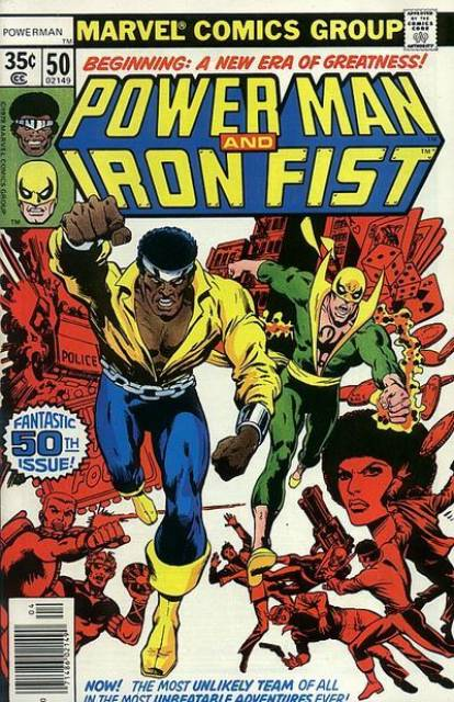 Luke Cage & Iron Fist - Heroes for Hire
