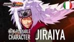Jiraiya entra nel roster di Naruto to Boruto: Shinobi Striker
