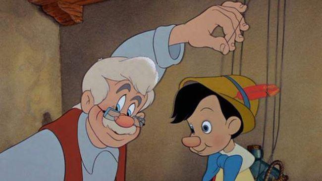 Geppetto e Pinocchio