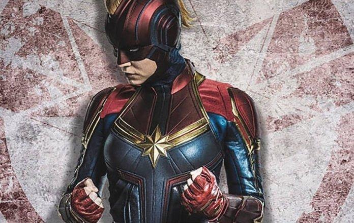 Brie Larson nei panni della supereroina