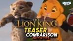 Il Re Leone: originale vs live-action, i trailer a confronto