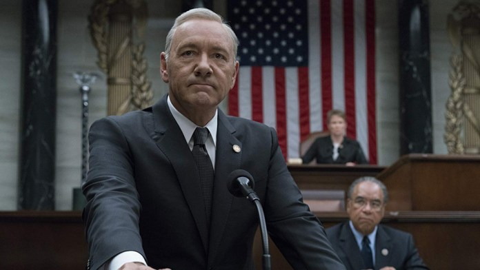 House of cards - frank Underwood - Kevin spacey