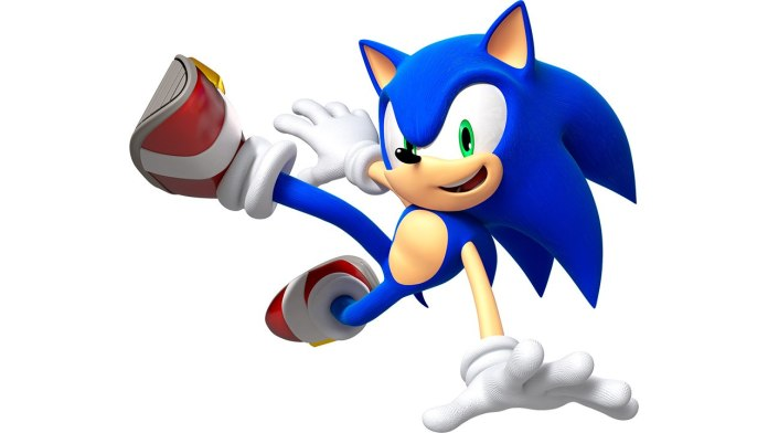 Sonic game gioco aspetto live action look meme