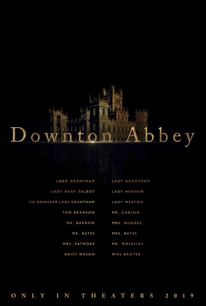 dowton abbey il film julianne fellows poster ufficiale