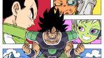 Takahashi e il poster pop di Dragon Ball Super: Broly