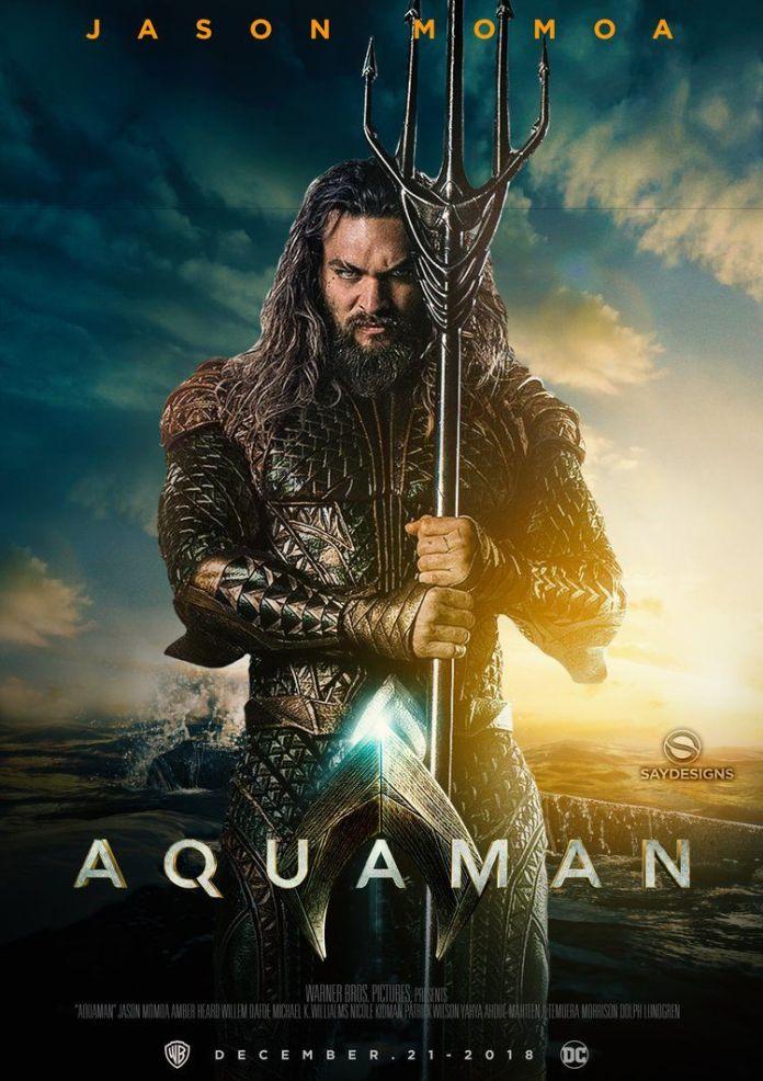 Aquaman: Jason Momoa