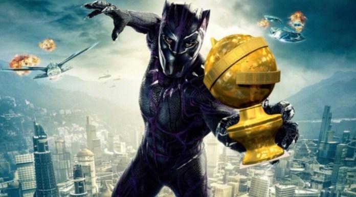 Black Panther Golden Globe 2019 fans