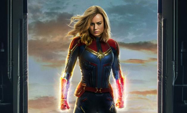 Captain Marvel Carol Denvers Brie Larson