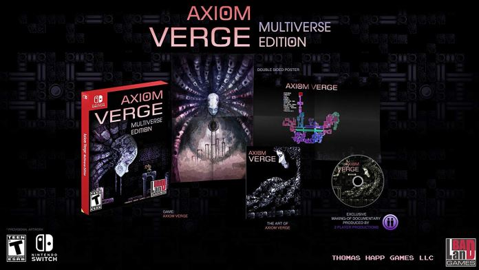 Axiom Verge switch pc xbox gioco gratis metroid
