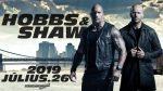 Hobbs & Shaw, The Rock annuncia la conclusione delle riprese