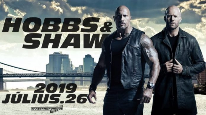 Fast & Furious The Rock Hobbs & Shaw