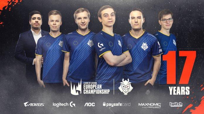 LEC LoL G3 Esports team settimana partite campionato europeo