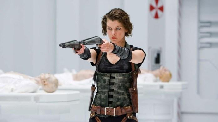 Resident Evil film Constantin milla franchise netflix