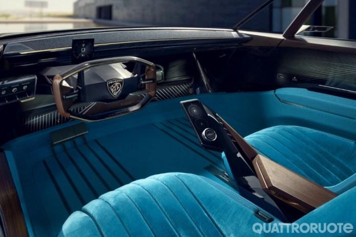Peugeot e-Legend macchina