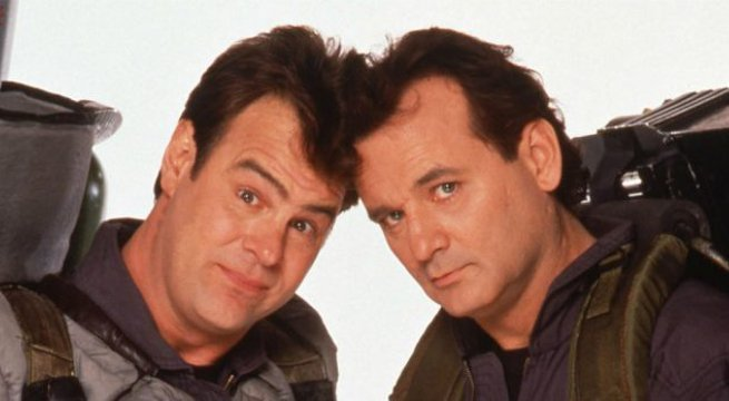Dan Aykroyd e Bill Murray - Ghostbusters