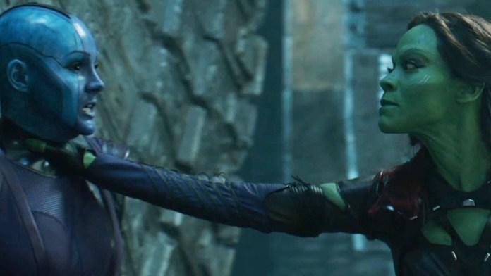 Avengers: Endgame, a meno di tre mesi dal rilascio si torna su set - Gamora vs Nebula