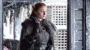 Game of Thrones: Sophie Turner ha portato a casa un grande oggetto-spoiler dal set