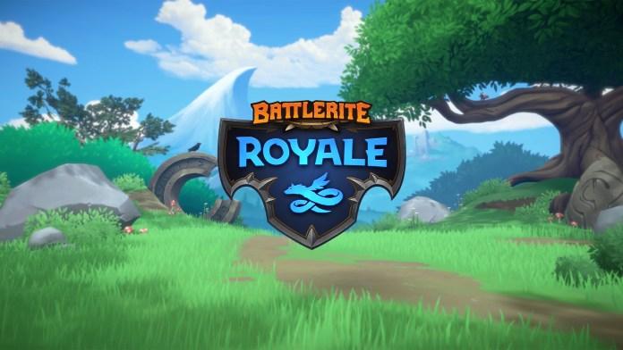 Battlerite Royale Logo f2p gratis steam moba indie