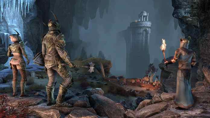 ESO wrathstone dungeons dlc pc data draghi