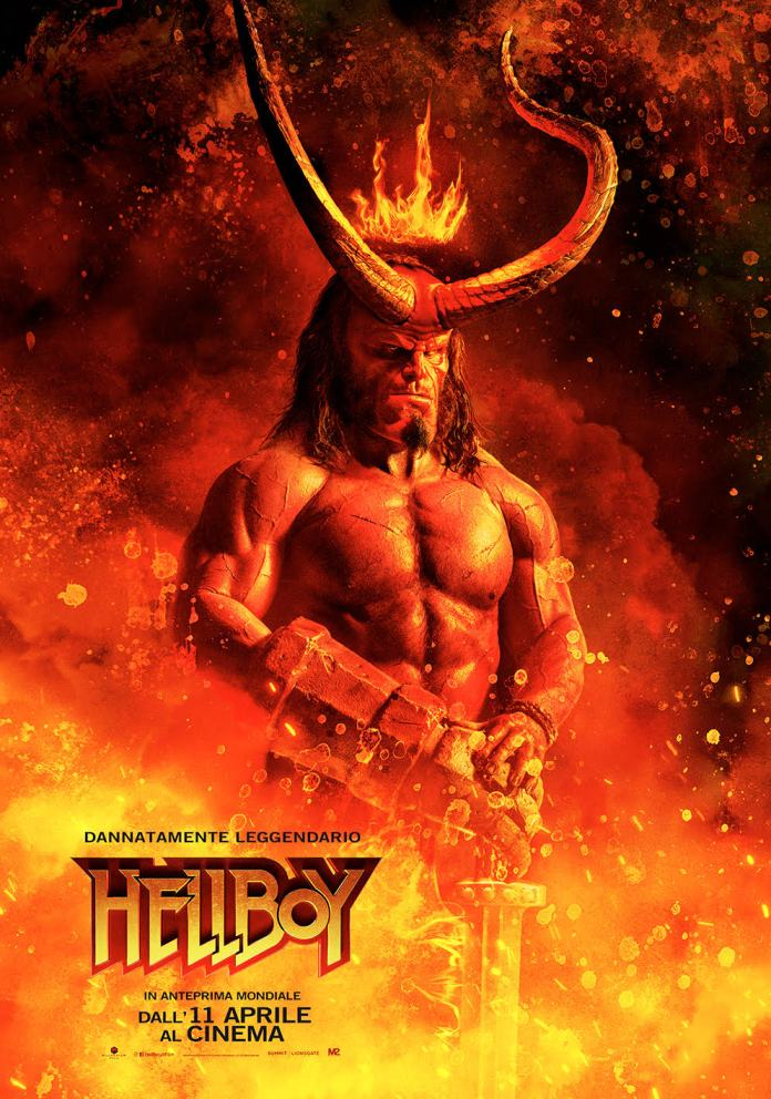Hellboy, il nuovo poster