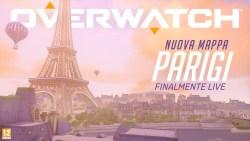 Overwatch: disponibile la nuova mappa Parigi