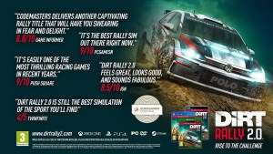 DiRT Rally 2.0 ora disponibile per PC, Xbox One e Playstation 4