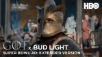 Trailer Super Bowl LIII - Game of Thrones, lo spot della Bud Light