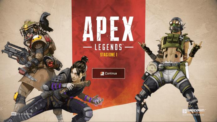 Apex Legends Season 1 Loading Screen
