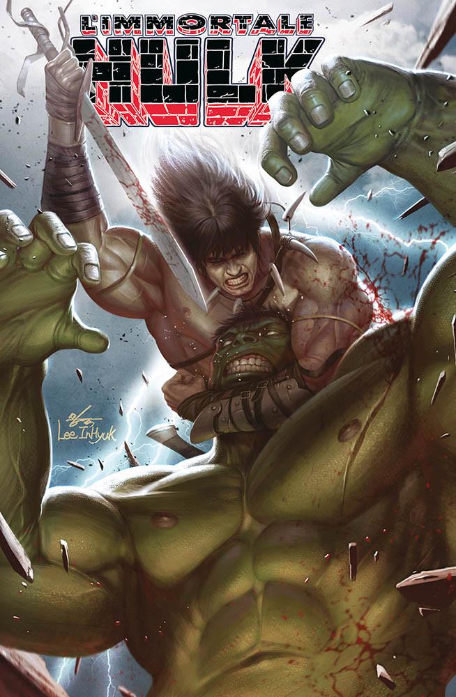 L'Immortale Hulk 6 - variant conan