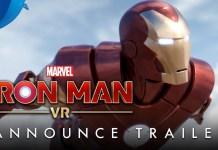 PlayStation VR Trailer Marvel Iron Man