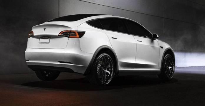 Tesla Model-Y Elon Musk