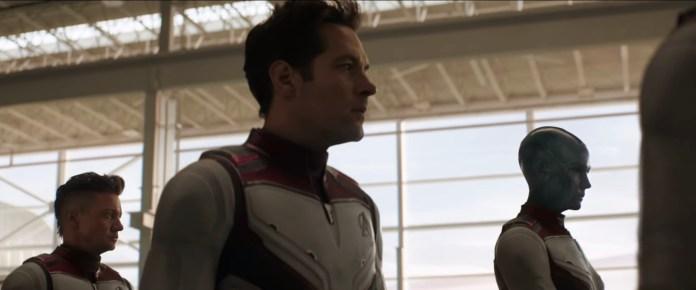 Nuovi Costumi Avengers: Endgame - Ronin/Occhio di Falco, Ant-Man, Nebula