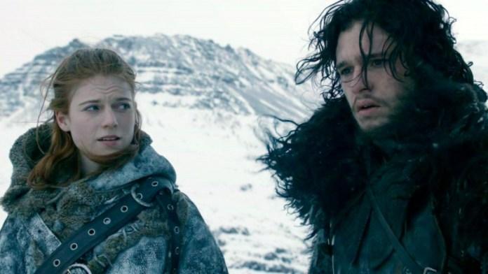 Game of Thrones (Il Trono di Spade): Jon Snow Ygritte Kit Harington