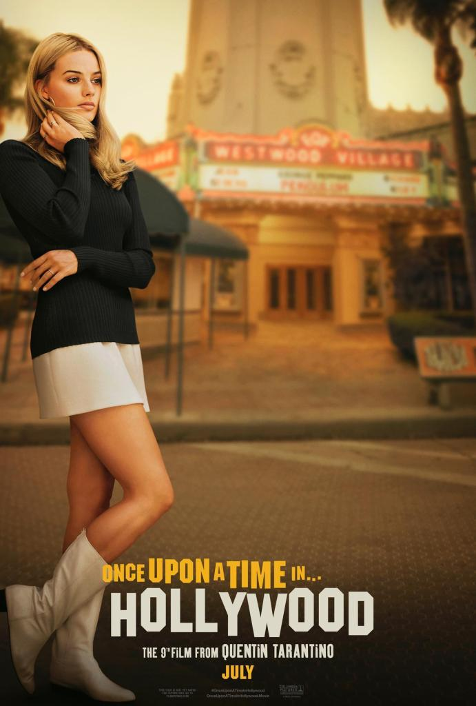 Sharon Tate - Margot Robbie - Poster Once Upon A Time in Hollywood - Quentin Tarantino